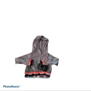 Nike Dri-Fif Little Girls hoodie Top 2T